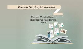 Promocja Literatury i Czytelnictwa