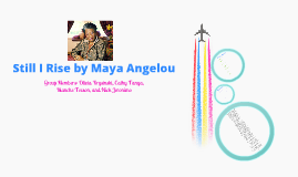 """still i rise an analysis Short summary of """"still i rise"""" maya angelou article shared by the speaker is  depicting the story of an oppressed person, and how he overcomes his situation."""