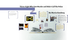 thirty eight who saw murder didn t call the police What is the main argument in martin gansberg's article 38 who saw murder didnt call the police.