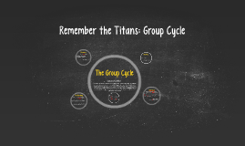 Remember the Titans: Group Cycle