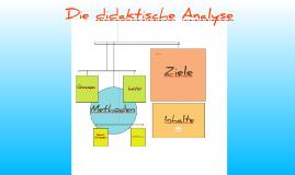 Copy of Die didaktische Analyse