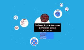 Copy of Indexação por Assuntos