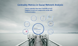 Centrality Metrics in Social Network Analysis: Code an operation that finds Centrality of each Happiest account