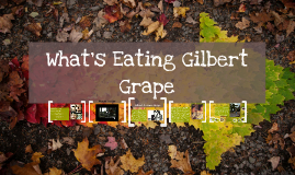 What's Eating Gilbert G