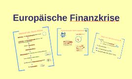 Europäische Finanzkrise