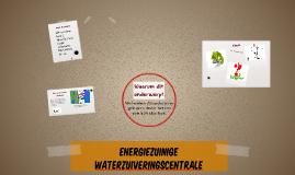 Energiezuinige waterzuiveringscentrale