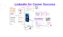 Using LinkedIn for Career Success