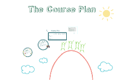 Developing a Course Plan
