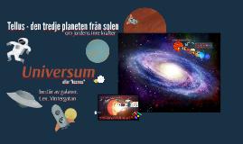 Tellus - den tredje planeten från solen
