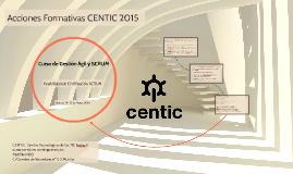 Curso de Gestión Ágil 14-15 Mayo 2015