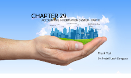 Copy of Chapter 29 Accounting Information System Part 2 프레지 템플릿