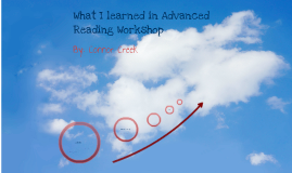 What I learned in advanced reading workshop