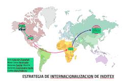 ESTRATEGIA DE INTERNACIONALIACION DE INDITEX