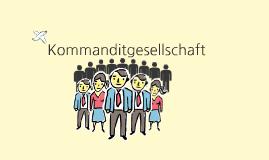 Kommanditgesellschaft