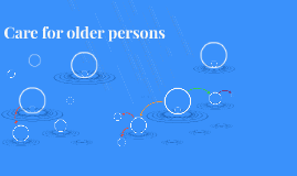 Care for older persons