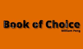 Book of Choice---Frankenstein