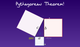 Pythagorean Theorem!