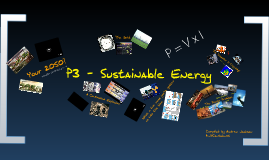 P3 - Sustainable Energy