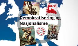 Demokratisering og nasjonalisme