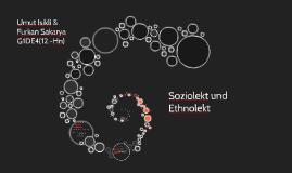 Soziolekt und Ethnolekt