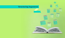 Copy of Structure of Arguments