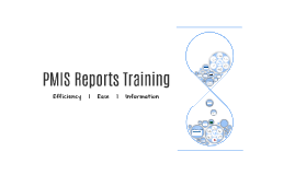 PMIS Reports Training (FINAL)