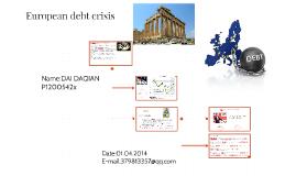 Copy of European debt crisis