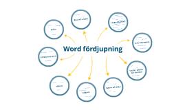 Word - fördjupning