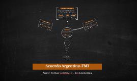 Acuerdo Argentina-FMI