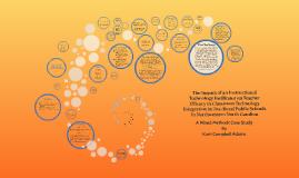 Copy of The Impact of an Instructional Technology Facilitator on Tea