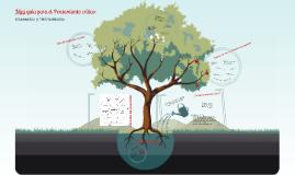 Copy of Pensamiento crítico, conceptos y herramientas