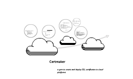 Certmaker - a gem to create and deploy SSL certificates to cloud platforms