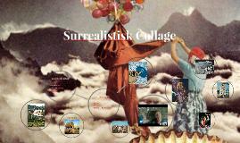 Surrealistisk Collage