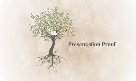 Presentation Proof
