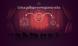 Lírica gallego-potuguesa culta
