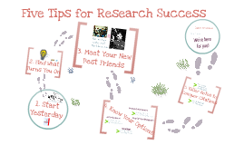 SLISJ703: Five Tips for Research Success