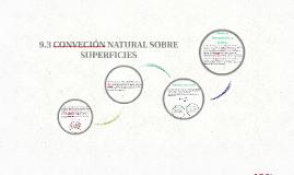 9.3 CONVECIÓN NATURAL SOBRE SUPERFICIES