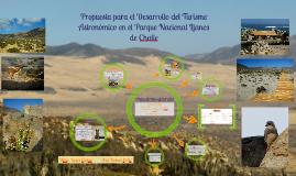 Parque Nacional Llanos de Challe : Propuesta de zonas de uso