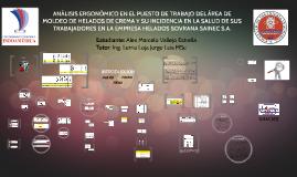 ANÁLISIS ERGONÓMICO EN EL ÁREA DE MOLDE DE HELADOS DE CREMA