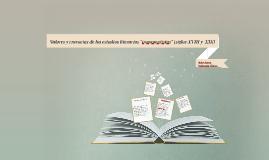 Valores y creencias de los estudios literarios (siglo XIX)