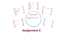 Assignment 4 Psyc L3