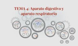 TEMA 4: Aparato digestivo y aparato respiratorio