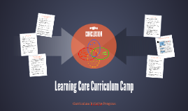 Learning Core Curriculum Camp