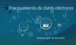 Procesamiento de datos eléctricos