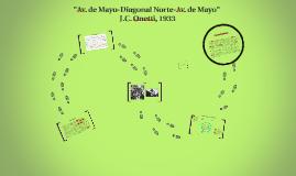 """Copy of """"Av. de Mayo-Diagonal Norte-Av. de Mayo"""""""