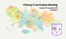 Primary 5 curriculum meeting