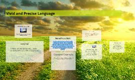 Copy of Precise Language and Sensory Details