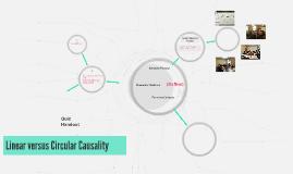 Linear versus Circular Causality