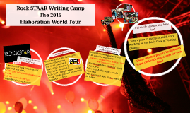 Copy of Rock STAAR Writing Camp