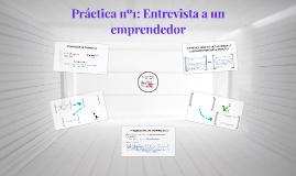 Práctica nº1: Entrevista a un emprendedor